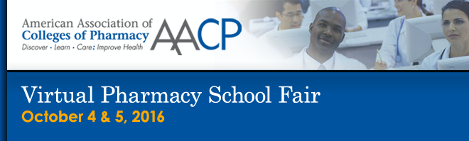 Virtual Pharmacy School Fair Banner