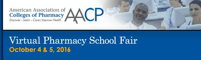 Virtual Pharmacy School Fair - 2016 Banner