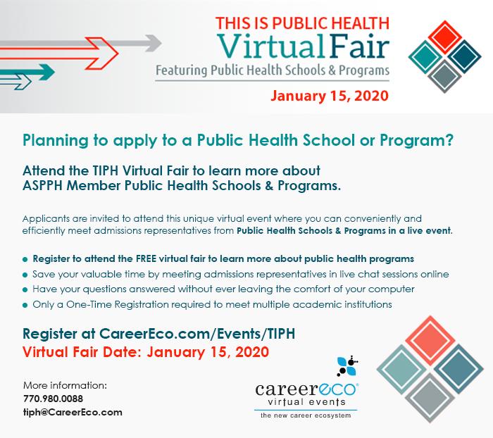 Virtual Fair: This is Public Health - January 15, 2020