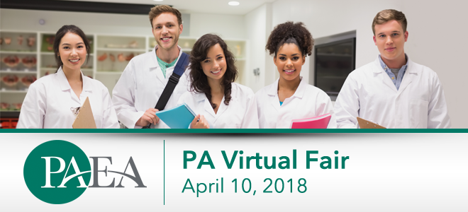 Physician Assistant Virtual Fair Banner