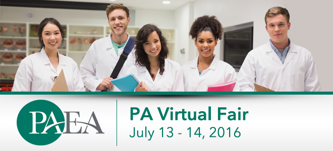 Physician Assistant Virtual Fair - July 2016 Banner