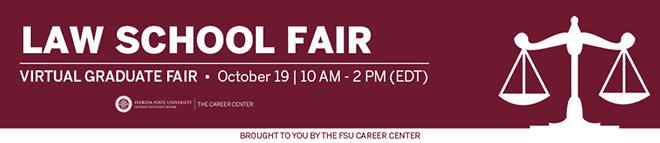 Florida State University Law School Virtual Fair Banner