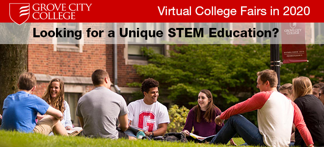 Grove City Virtual College Sessions Banner