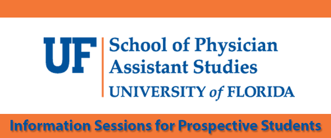 UF Admissions Virtual Fair for PA Applicants Banner