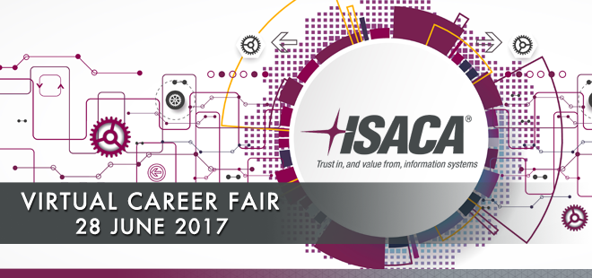 ISACA Virtual Career Fair Banner