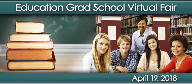 Education Grad School Virtual Fair Banner