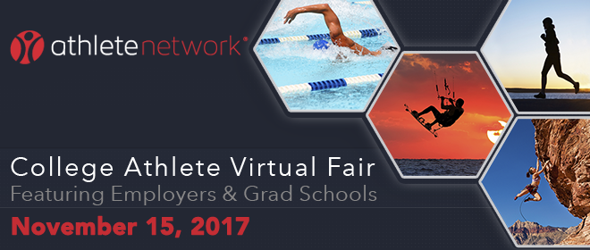 College Athlete Virtual Fair Banner