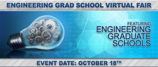 Engineering Grad School Virtual Fair Banner