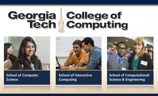 Georgia Tech College of Computing Virtual Career Fair Banner
