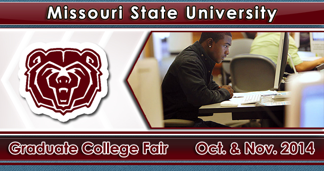 Missouri State University Grad School Fair Fall Banner