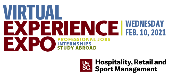 UofSC Virtual Experience Expo - Hosted by HRSM Banner