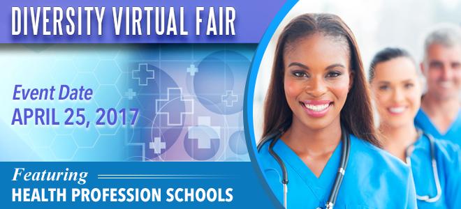 Diversity Healthcare Virtual Fair Banner