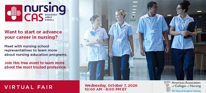 Discover Nursing Virtual Fair Banner