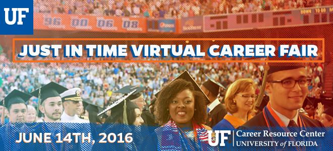 University of Florida Virtual Career Fair Banner