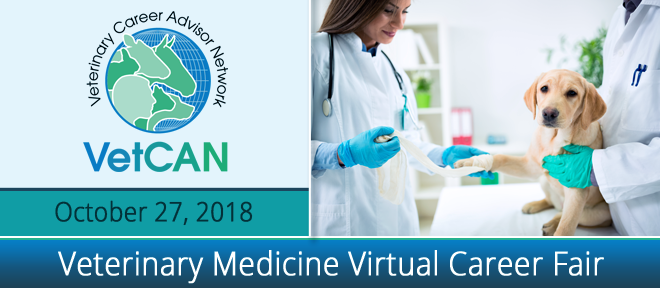 Veterinary Medicine Virtual Career Fair Banner