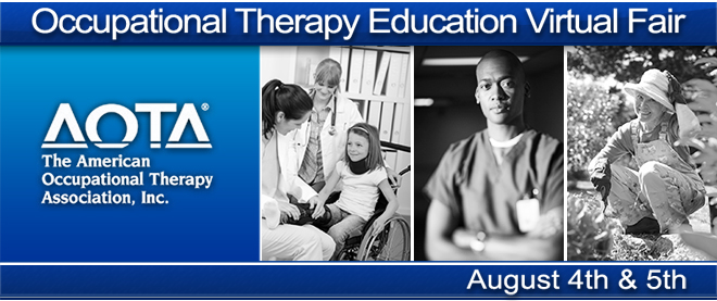 Occupational Therapy Education Virtual Fair Banner