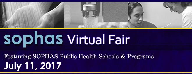SOPHAS Virtual Fair - July 2017 Banner