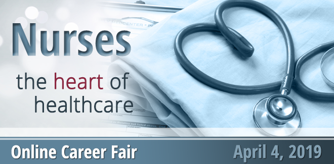 Heart of Healthcare Virtual Career Fair Banner