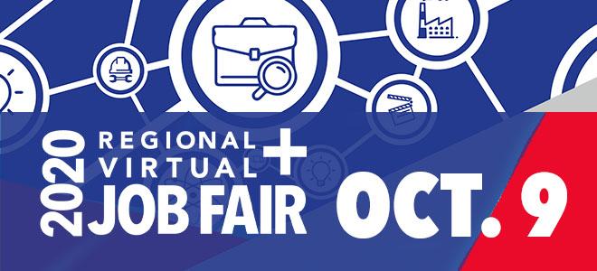Georgia Piedmont 2020 Regional + Virtual Job Fair Banner
