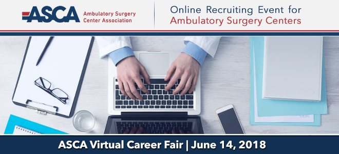 ASCA Virtual Career Fair Banner
