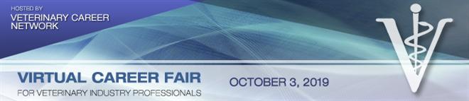 Veterinary Career Network Online Career Fair Banner