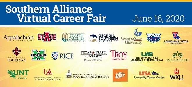 Southern Alliance Virtual Career Fair Banner
