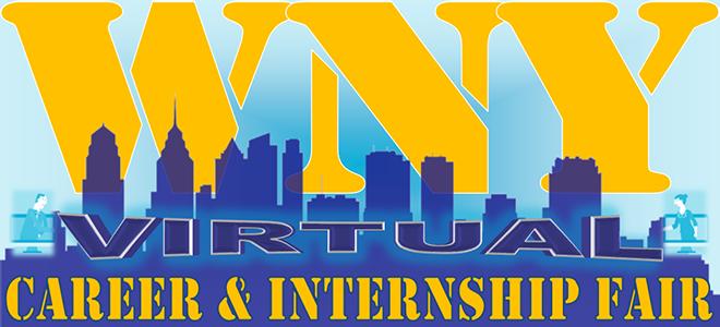Western New York Association of College Career Centers Virtual Career Fair Banner