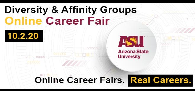ASU-Fulton Diversity & Affinity Groups Online Career Fair  Banner