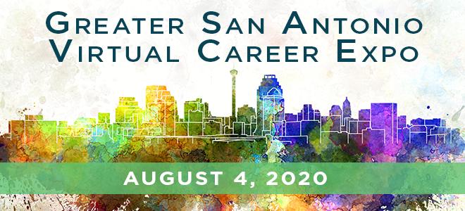 Greater San Antonio Virtual Career Expo  Banner