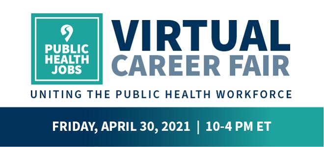 PublicHealthJobs.org: Virtual Career Fair Banner