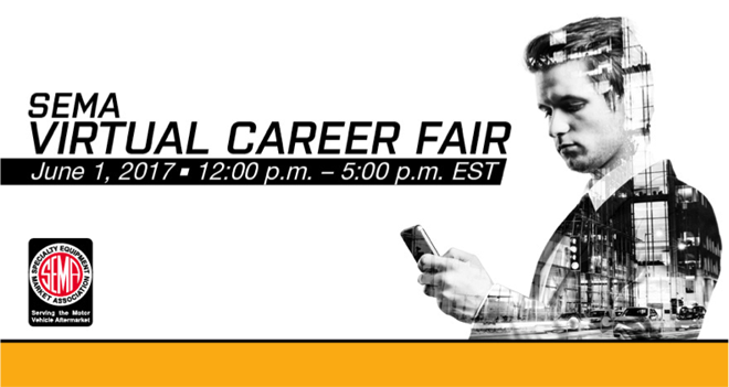 SEMA Virtual Career Fair Banner