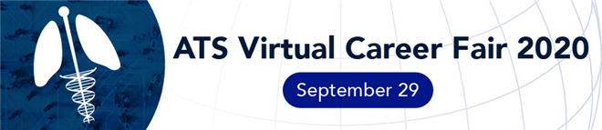 American Thoracic Virtual Career Fair Banner