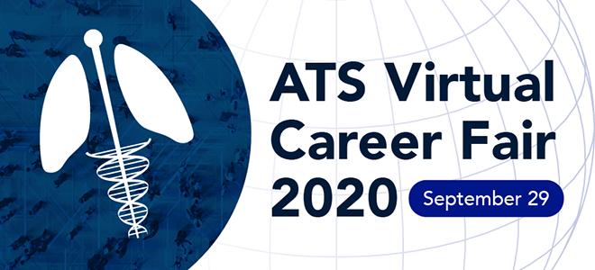 American Thoracic Virtual Career Fair Banner