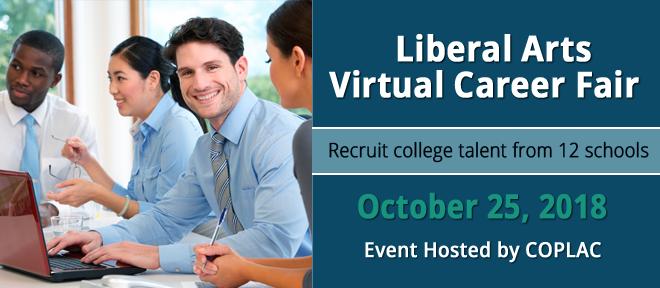 Council of Public Liberal Arts Colleges Virtual Career Fair Banner