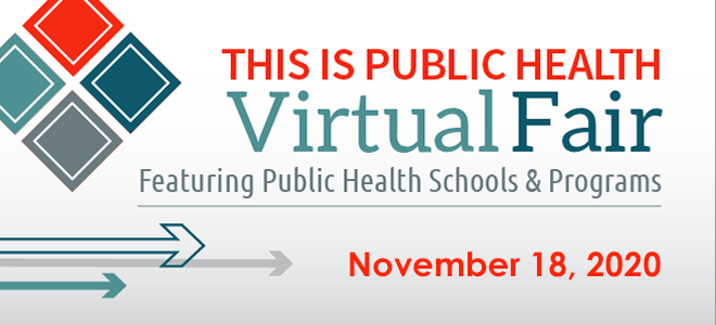 Virtual Fair: This is Public Health Banner