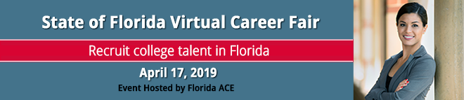 FloridaACE Virtual Career Fair Banner