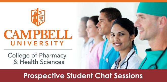 Campbell Pharmacy & Health Sciences: Prospective Students Banner