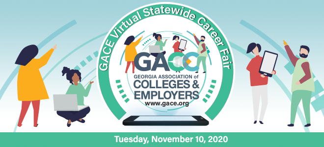 GACE Virtual Career Fair Banner