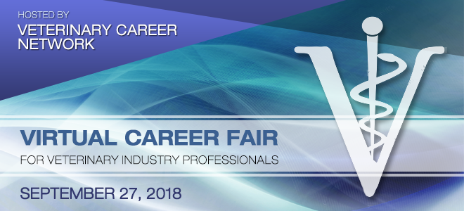 Veterinary Career Network Online Career Fair Banner