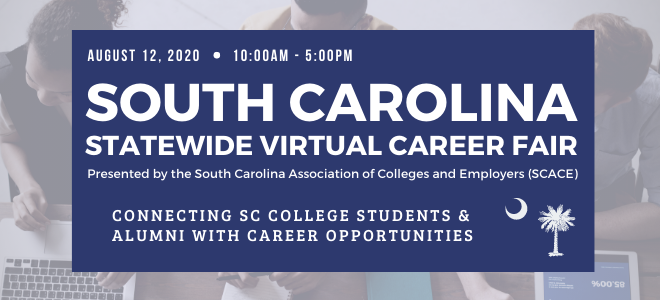 South Carolina Statewide Virtual Career Fair Banner
