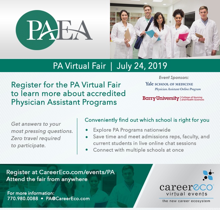 PA Virtual Fair: Meet with 45+ Schools in one live event!