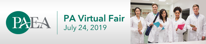 Physician Assistant Virtual Fair Banner