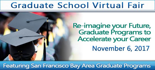 San Francisco Bay Area Graduate School Virtual Fair Banner