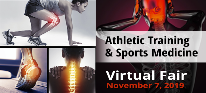 Athletic Training & Sports Medicine Virtual Fair Banner