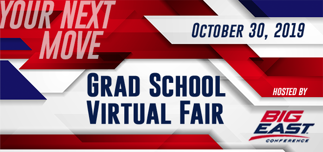 Grad School Virtual Fair - Hosted by Big East Career Consortium Banner