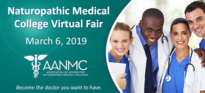 Naturopathic Medical College Virtual Fair Banner
