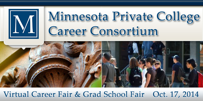 MPCCC Virtual Career Fair & Grad School Fair - Oct. 2014 Banner