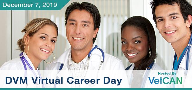 DVM Virtual Career Day Banner