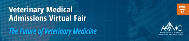 Veterinary Admissions Virtual Fair Banner