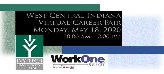 West Central Indiana Virtual Career Fair Banner